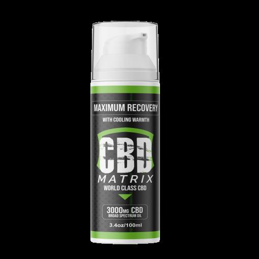 CBD Matrix 3000mg Relief Cream
