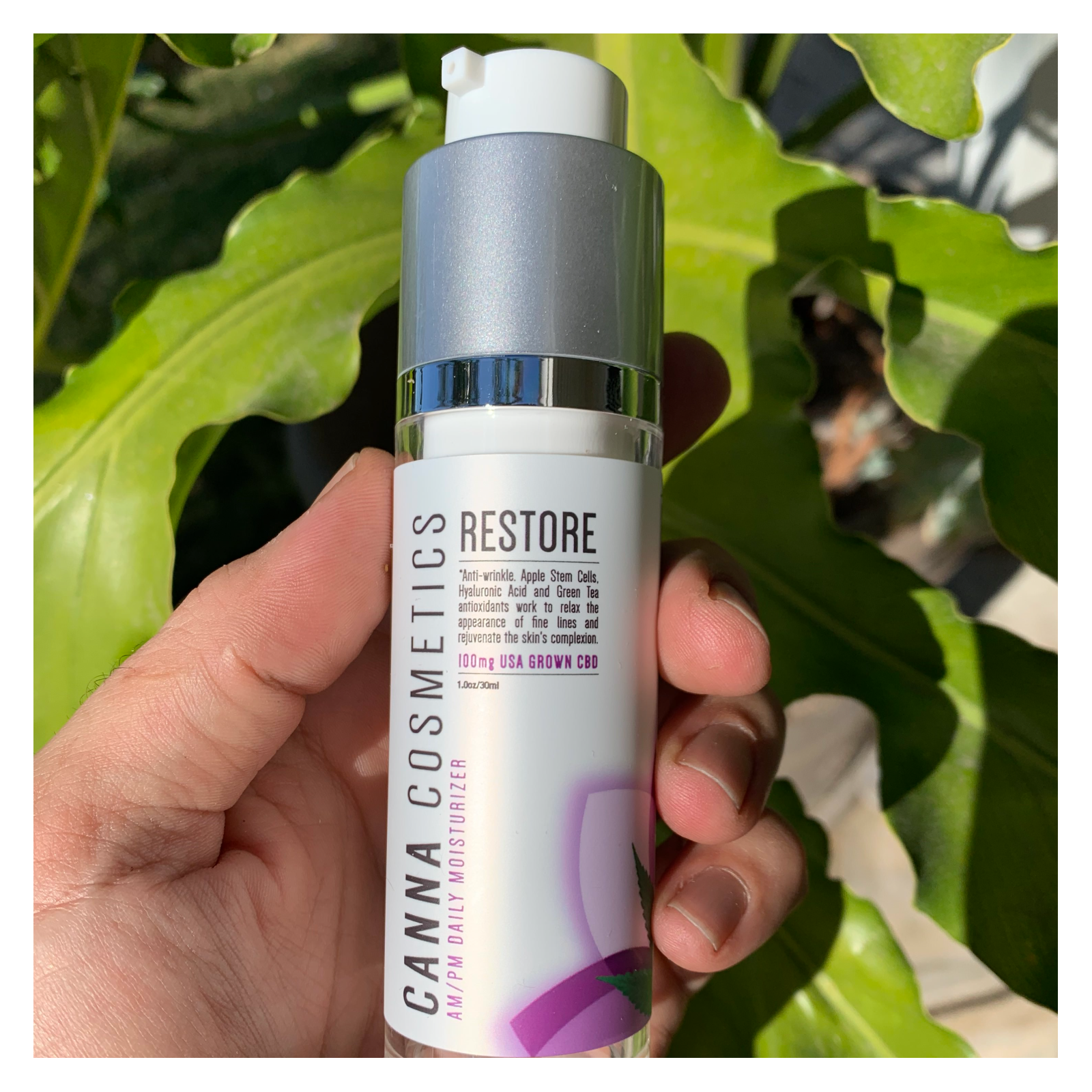 CBD Restore AM/PM Daily Moisturizer