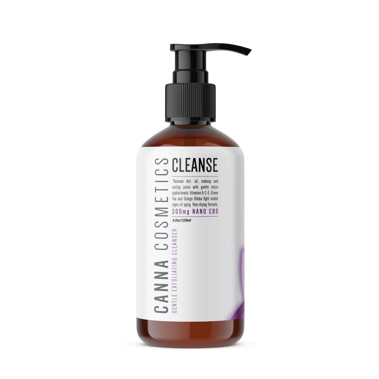 Cleanse CBD Facial Exfoliator